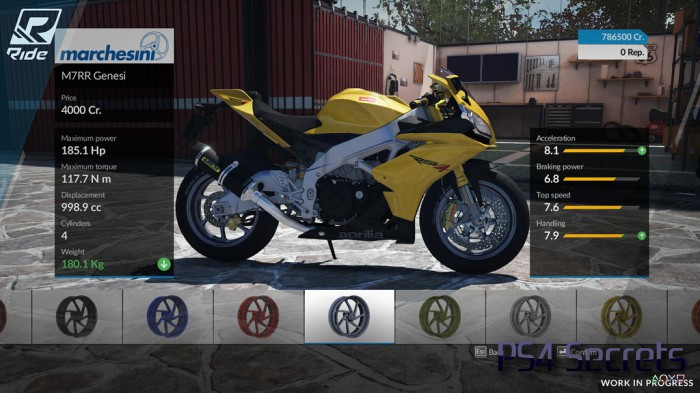 ride le jeu de course de moto bient t sur ps 4. Black Bedroom Furniture Sets. Home Design Ideas