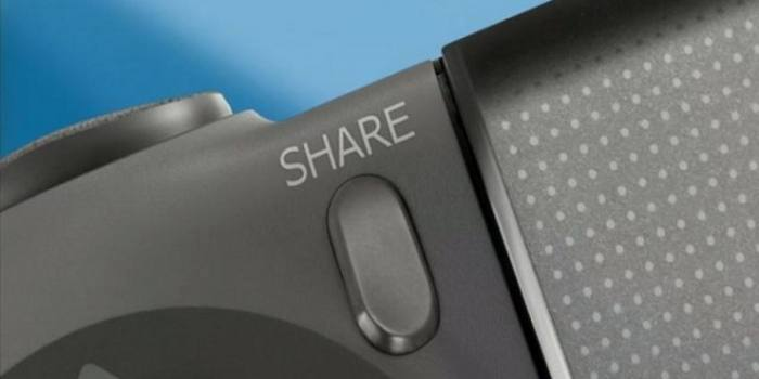 Bouton share ps4
